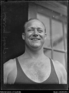 Fairfax archive, Mr Harry Hay swimmer, New South Wales, 4 January 1932, nla.pic-vn6265250
